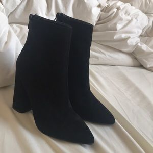 PLT SUEDE ANKLE BOOTS SIZE 8.5